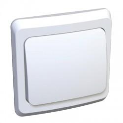 Schneider Electric Выключатель одноклавишный белый Этюд