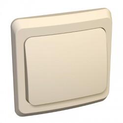 Schneider Electric Нажимная кнопка одноклавишная кремовый Этюд