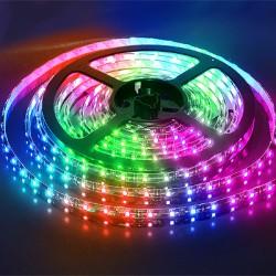 Navigator лента светодиодная NLS-3528RGB60-4.8-IP20-12V-Pro R5 RGB