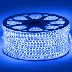 Navigator лента светодиодная NLS-3528B60-4.8-IP67-220V R50 синяя