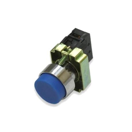 Кнопка LAY5-BL61 синий без подсветки 1з