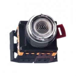 Кнопка IEK ABLFS-22 прозрачный d22 мм 230В 1з+1р