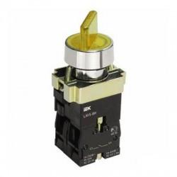 Переключатель IEK LAY5-BK2565 желтый 2 положения