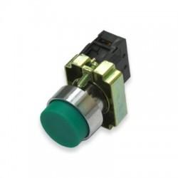 Кнопка IEK LAY5-BL31 зеленый без подсветки 1з