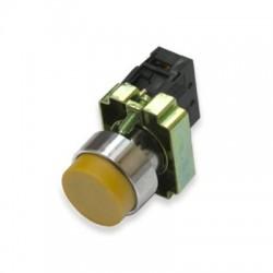 Кнопка IEK LAY5-BL51 желтый без подсветки 1з