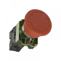 Кнопка IEK LAY5-BS542 «Грибок» аварийная с фиксацией