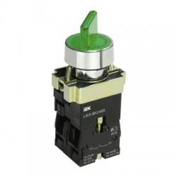 Переключатель IEK LAY5-BK2365 зеленый 2 положения