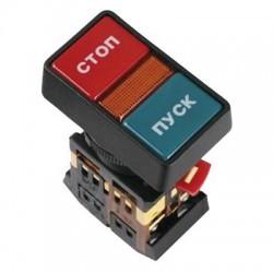 Кнопка IEK РPВВ-30N «Пуск-Стоп» d22 мм 230В 1з+1р