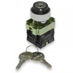 Переключатель IEK LAY5-BG45 на 2 положения с ключом