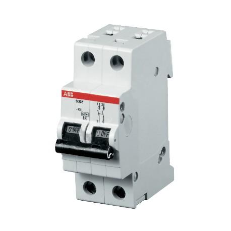 Автомат ABB S202 C6 2P 6A 6kA