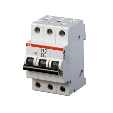 Автомат ABB S203 C50 3P 50A 6kA