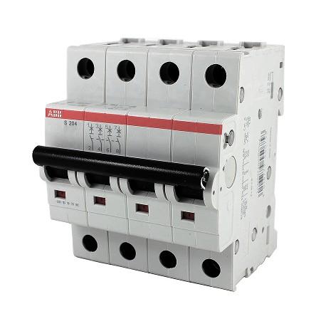 Автомат ABB S204 C50 4P 50A 6kA