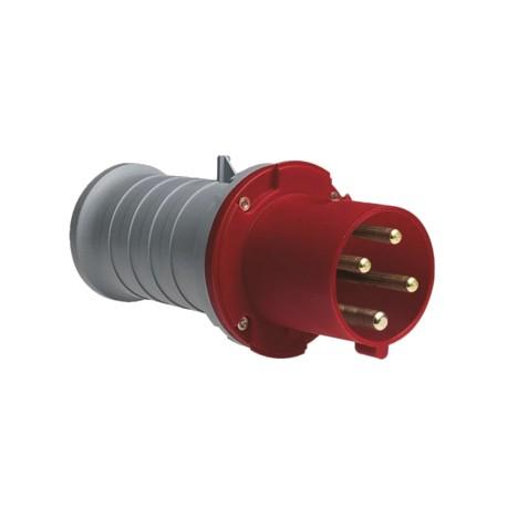 Вилка ABB 363P6 красный 63A 3P+E IP44