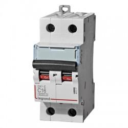 Автомат Legrand DX3-E 2Р характеристика С 6kA