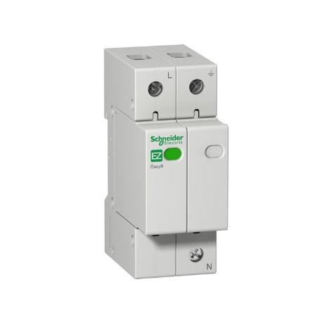 Ограничитель напряжения Schneider Electric EASY9 1P+N 20kА 230В