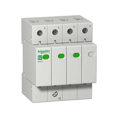 Ограничитель напряжения Schneider Electric EASY9 3P+N 20kА 400В