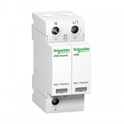 Ограничитель напряжения Schneider Electric Acti 9 T2 iPRD 20r 20kА 350В 1P+N сигнал