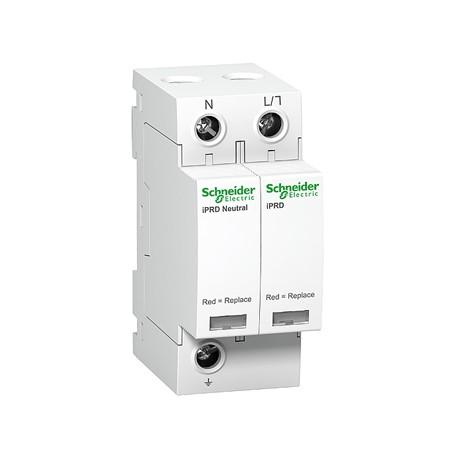 Ограничитель напряжения Schneider Electric Acti 9 T2 iPRD 40r 40kА 350В 1P+N сигнал