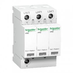 Ограничитель напряжения Schneider Electric Acti 9 T2 iPRD 40r 40kА 350В 3P сигнал