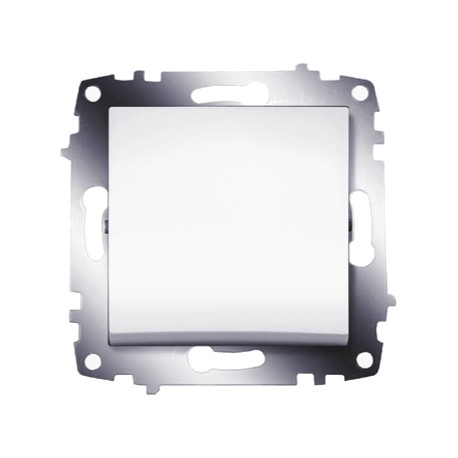 ABB Выключатель одноклавишный белый Cosmo