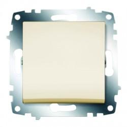 ABB Выключатель одноклавишный крем Cosmo