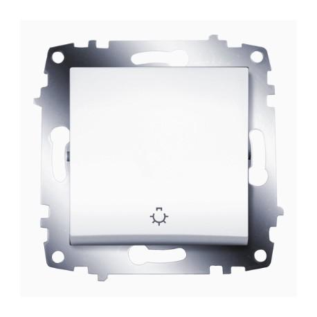 ABB Выключатель кнопочный белый Cosmo