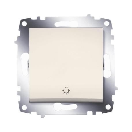 ABB Выключатель кнопочный крем Cosmo