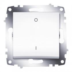 ABB Выключатель двухполюсный белый Cosmo