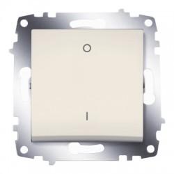 ABB Выключатель двухполюсный крем Cosmo