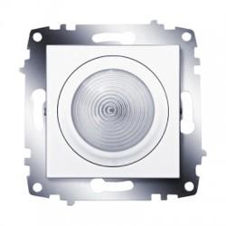 ABB Подсветка с выключателем белый Cosmo