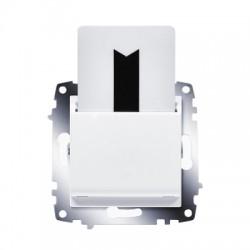 ABB Карточный выключатель с задержкой выключения белый Cosmo