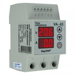 Реле напряжения DigiTOP VA-63A с контролем тока
