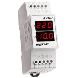 Амперметр - вольтметр DigiTOP AVM-1