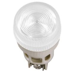 Лампа IEK ENR-22 сигнальная d22мм 240В белый неон