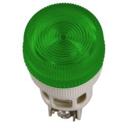Лампа IEK ENR-22 сигнальная d22мм 240В зеленый неон