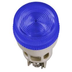 Лампа IEK ENR-22 сигнальная d22мм 240В синий неон