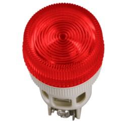 Лампа IEK ENR-22 сигнальная d22мм 240В красный неон