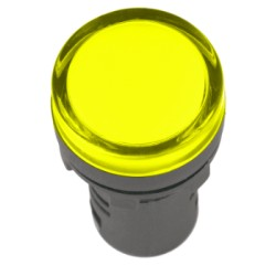 Лампа IEK AD-16DS LED матрица d16мм 110В желтый