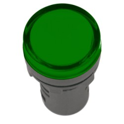 Лампа IEK AD-16DS LED матрица d16мм 110В зеленый