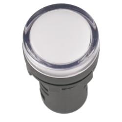 Лампа IEK AD-22DS LED матрица d22мм 230В белый