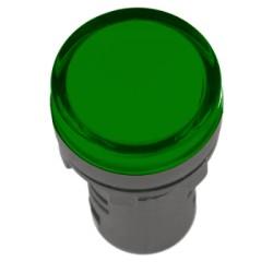 Лампа IEK AD-22DS LED матрица d22мм 230В зеленый