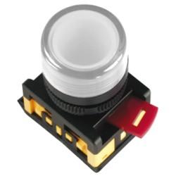 Лампа IEK AL-22TE сигнальная d22мм 230В белый неон