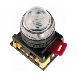 Лампа IEK AL-22 сигнальная d22мм 230В белый неон