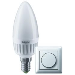 Navigator лампа светодиодная NLL-C37-7-230-4K-E14-FR-DIMM