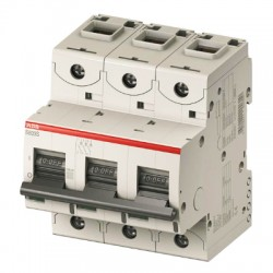 Автоматический выключатель ABB S803С 3P 100A 25kA C