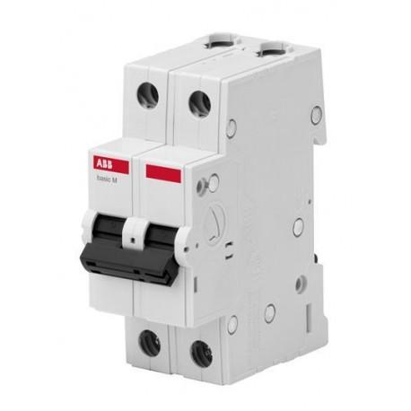 Автоматический выключатель ABB basic M 2P 6-63A 4,5kA C