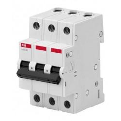Автоматический выключатель ABB basic M 3P 10A 4,5kA C