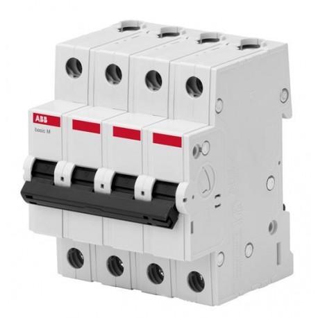 Автоматический выключатель ABB basic M 4P 6-63A 4,5kA C