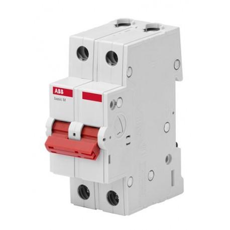 Выключатель (рубильник) ABB Basic M 2P 16-63А