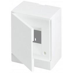 Щит ABB Basic E на 4 модуля, настенный, непрозрачная белая дверь